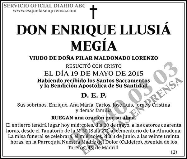Enrique Llusiá Megía